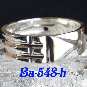 "*Ba-548-H Atlantis Ring ""Regular "" (Sterling .925)"