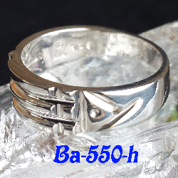 *Ba-550_H Atlantis Ring (Sterling .925)