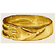 Ba-550H Bague Atlante en Or 10K