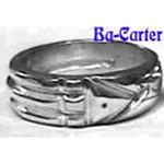 *Bague Atlante Howard Carter<br>(ARGENT Pur .999FS)
