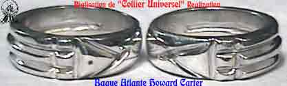 Bague Atlante Howard Carter